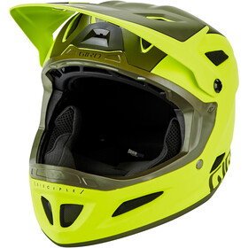 Giro Disciple MIPS Kask rowerowy, matte citron/olive